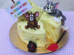 Cake Art! Tom and Jerry ~ all edible