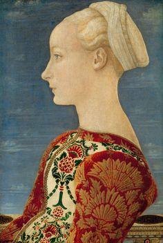 amare-habeo:  Antonio del Pollaiuolo ( ca.1432-1498)  Italian Early Renaissance Painter and Sculptor Staatliche Museen, Berlin, Germany