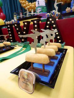 Gymnastics Birthday Party Ideas | Photo 1 of 14