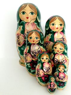 Beautiful Babushka Ladies Vintage Russian by BackInTimeBabushkas