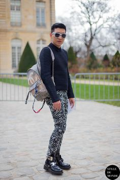 New post on http://www.styledumonde.com/ with #Bryanboy @Bryan Grey Yambao at #parisfashionweek #pfw #fw14... #chanel #balenciaga #outfit #ootd #streetstyle #streetfashion #streetchic #streetlook #instafashion #instastyle #fashion #mode #style #Paris #weloveit #instastreetstyle. Photo by #styledumonde