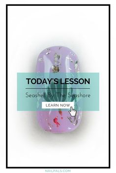 Learn How To Create This #NailArt Design Incorporating Nail Foils And Soak Off Gels.