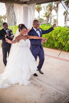 Dreamy Destination Wedding at the Half Moon Resort in Jamaica: Sabrina + Jamil
