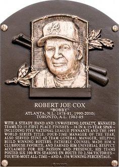 Bobby Cox | Baseball Hall of Fame