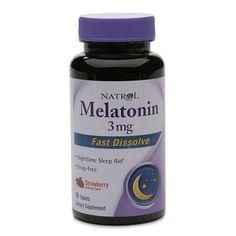 Natrol Melatonin 3mg Fast Dissolve, Tablets - 90 ea