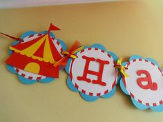 Circus-Carnival-Birthday-Party-Banner-Handmade-first-1st