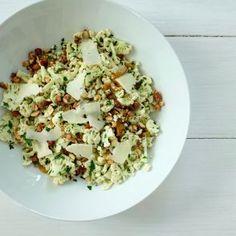Cauliflower Salad with Smoked Almonds and Manchego by Jessica Seinfeld