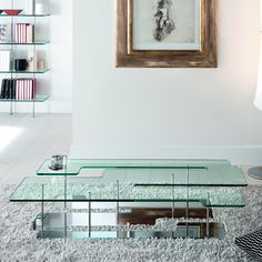 Playtime Rectangular Coffee Table by Tonelli - Klarity
