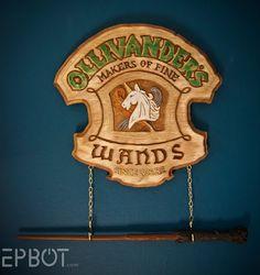 EPBOT: My Harry Potter Wand Display