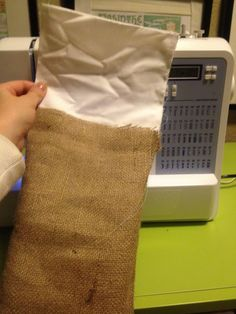 Butler Life: A Very Burlap Christmas or How to Make Stockings and Tree Skirts