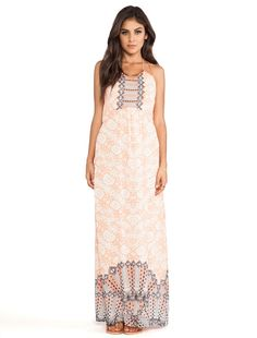 Wish Goddess Maxi Dress in Desert Jewel