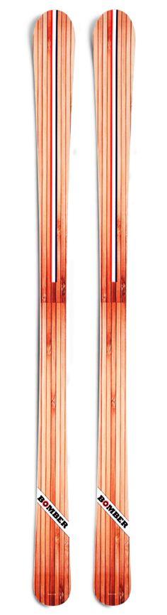 Bomber Ski Woodie Alpine All-Mountain Ski