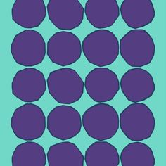 Kivet is a Finnish word that means stones and this popular pattern was designed by Maija Isola for Marimekko in 1956.