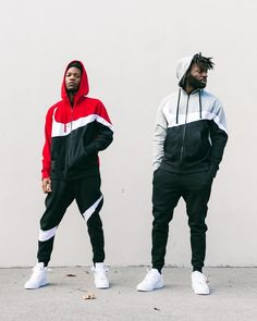 'S Big energy. 'Shooting Swoosh' Pack Hitting Stores and Online Now Nike Jogging Suits, Nike Clothes Mens, Nike Tracksuit, Joggers Outfit, Track Suit Men, Nike Tech Fleece, Nike Outfits, Mens Sweatshirts, Footlocker