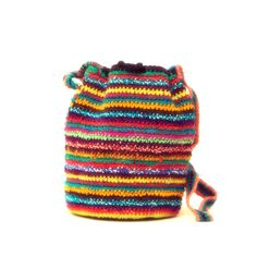 Handmade Oax Shoulder Bags take approximately 14 or more days to complete using the crochet / weaving technique. Great for 6 - 13 yrs One-Of-A-Kind, Fair Trade, Materials: Cotton Type: Oax Chila Size: