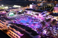 ★★★★★ Ushuaia Ibiza Beach Hotel - Adults Only, Playa d'en Bossa, Spanje Ibiza Clubs, Best Clubs In Ibiza, Hotel Ibiza, Ibiza Town, Ushuaia, Ibiza Strand, Eivissa Ibiza, Playa Den Bossa, Ibiza Travel