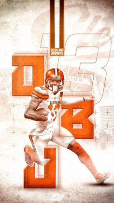 Cleveland Browns History, Cleveland Browns Football, Wwe Wallpapers, Sports Wallpapers, Gaming Wallpapers, Lamar Jackson Wallpaper, Odell Beckham Jr Wallpapers, Cleveland Browns Wallpaper, Browns Players