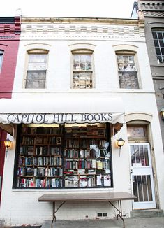 "Capitol Hill Books from ""10 Beautiful Bookshops That Will Stop You in Your Tracks"" 