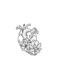 Mini Tattoos, Body Art Tattoos, Small Tattoos, Manga Drawing Tutorials, Drawing Tutorials For Beginners, Minimalist Drawing, Aesthetic Drawing, Heart Art, Future Tattoos
