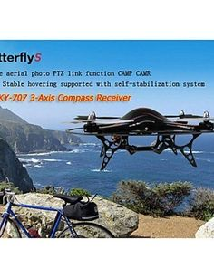 Skyartec RC Quadcopter ButterflyS 3Axis Compass RTF MC021  mode 1 -- Check out this great product.