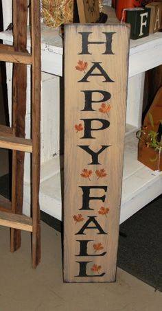 I have painted this sign in black and also in tan with black underneath the topcoat. It has been distressed all over for a primitive look. Will make a beautiful sign that can be used the entire fall season through the Thanksgiving holiday. Measures x 36 Primitive Wreath, Primitive Wood Signs, Primitive Fall, Thanksgiving Crafts, Thanksgiving 2017, Fall Wood Signs, Wood Pallet Art, Front Porch Signs, Wood Home Decor