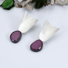 Gemstone Earrings, Boho Jewelry, Jewelry Shop, Women's Earrings, Silver Earrings, Handmade Shop, Etsy Handmade, Handmade Gifts, Beautiful Gifts