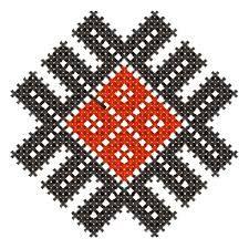 Imagini pentru motive traditionale romanesti Fabric Earrings, Embroidery Designs, Stencils, Folk, Traditional, Pattern, Crafts, Moldova, Bulgaria