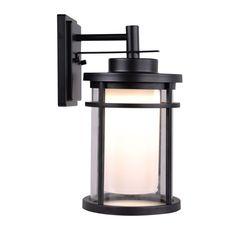 Raisfeld Collection Medium Exterior Wall-Mount LED Lantern