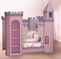 the bookshelf could be the ladder to the top bunk on the inside of the tower.  Website is not the site to purchase from or with instructions, pinning for my own ideas