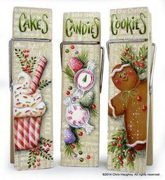 Christmas Sweet Treat Clips Pattern – Cupboard Distributing