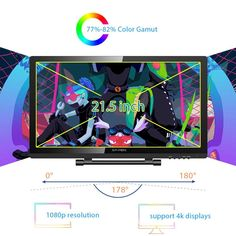 XP-PEN Pro inch Graphics Drawing Tablet Pen Display Monitor with 8192 Levels Pen Pressure Digital Art Software, Drawing Software, Corel Painter, Drawing Tablet, Display Resolution, Hdmi Cables, Monitor, Artsy, Drawings