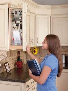 home kitchen cabinet organizers on pinterest