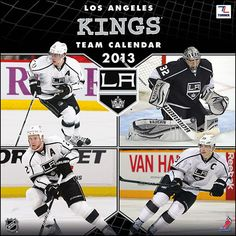 Perfect Timing - Turner 12 X 12 Inches 2013 Los Angeles Kings Wall Calendar La Kings Hockey, I Love La, Los Angeles Kings, Dream City, National Hockey League, School Photos, Perfect Timing, Roller Skating, Ice Hockey