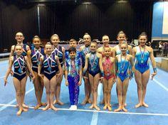 Wakefield Gymnastics Acrobatics Club all leotards except the boys by lilachelene