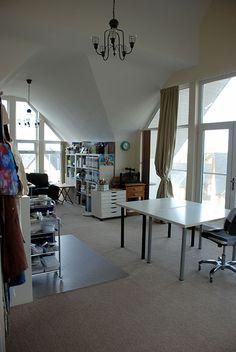 Glend's studio Craft Storage Rubber stamps Artists studio Craft room