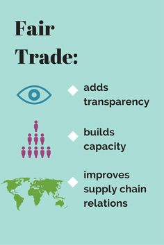 #FairTrade makes a big difference. | repinned by www.globalgroovelife.com |