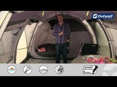 Outwell Nevada LP Tent 2016 Premium Collection | C&ingWorld.co.uk & Outwell Montana 6 Tent (SMU) | Family 6 person tents | Pinterest ...