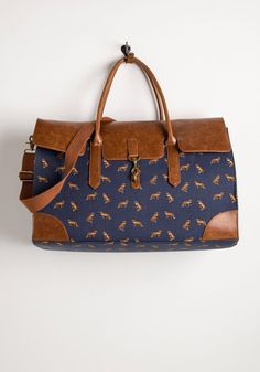 Clever Endeavor Weekend Bag in Fox, #ModCloth