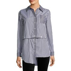 Striped Fractured Shirt