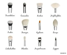 Make-up brush: Which tool is for what? – DelmarCrabtre-quizzes- videos- fashion- lifestyle Make-up brush: Which tool is for what? Make-up brush: Which tool is for what? Makeup Guide, Diy Makeup, Makeup Hacks, Makeup Tools, Makeup Geek, Face Makeup, Makeup Trends, Make Up Brush, Brush Set