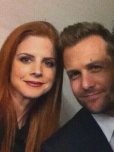Sarah Rafferty & Gabriel Macht