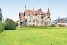 This house was built around 1880 in the Victorian romantic gothic style, Rhuallt, Denbighshire