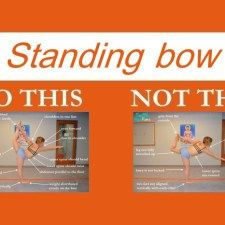 Perfecting the Bikram yoga poses: Standing Bow