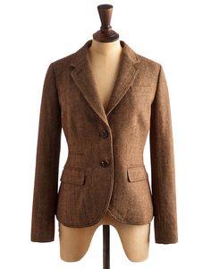 3c6f905d2ab BRONTE Women s Single Breasted Tweed Blazer Tweed Blazer