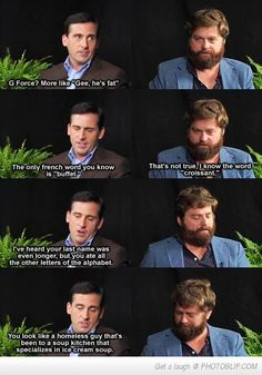 Between Two Ferns is priceless...