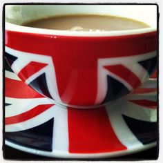 Whenever I visit England I always have a cup of tea with my family.