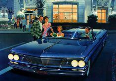 Plan59 :: Classic Car Art :: Vintage Ads :: 1960 Pontiac Bonneville