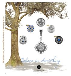 """Show your faith with your personalized Magnolia and Vine Snap jewellery and accessories . Contact Roberta Kirk at www.facebook.com/mymagnoliaandvinerobbikirk  check out the whole collection at www.mymagnoliaandvine.ca/ROBBIKIRK/  """"magnolia and vine Believe in Something"""" by magnoliaandvine on Polyvore"""