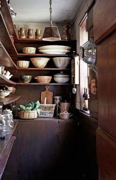 Storage! Bowls! Jars! thankful sage farm school
