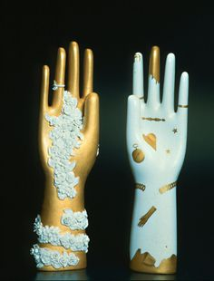 Gio Ponti, hand sculptures for the 18th-century ceramics manufacturer Richard Ginori, 1935. Gio Ponti Archive. Good read: NY Times